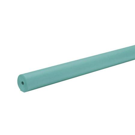Rainbow Kraft Duo-Finish Fiber Light-Weight Kraft Paper Roll, Aqua