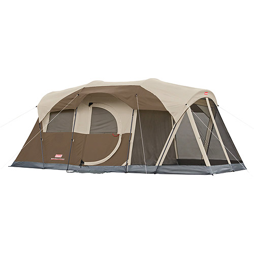 Coleman Weathermaster 6 screened 17x9 Tent by COLEMAN