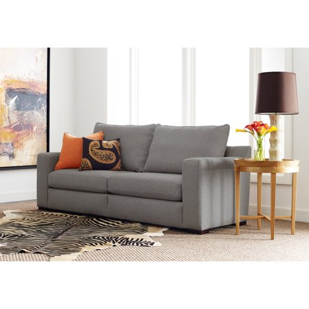 "Serta Geneva 78"" Sofa in Gray"