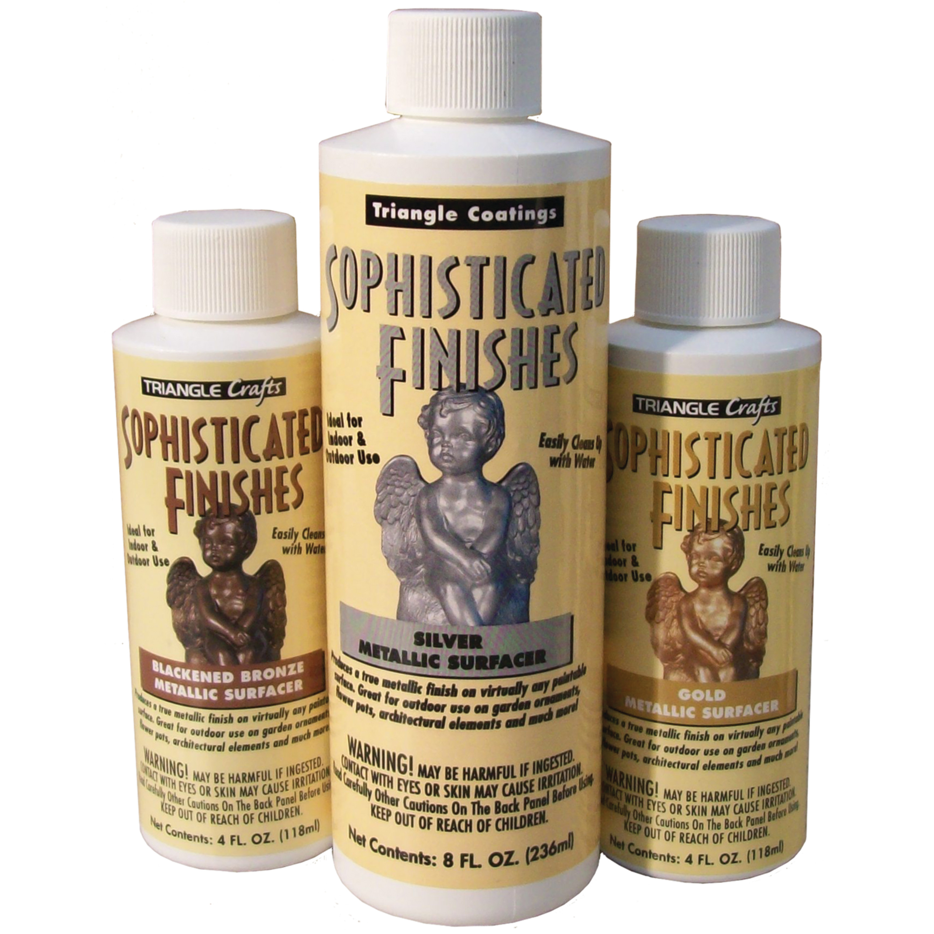 Sophisticated Finishes Instant Antiquity Metallic Surfacing Solution, 4 oz., Blackened Bronze