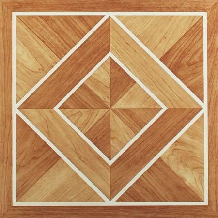 Vinyl Floor Tiles Self Adhesive Stick Flooring - Multi Pack Wood Styles (Cappuccino Hardwood Flooring)