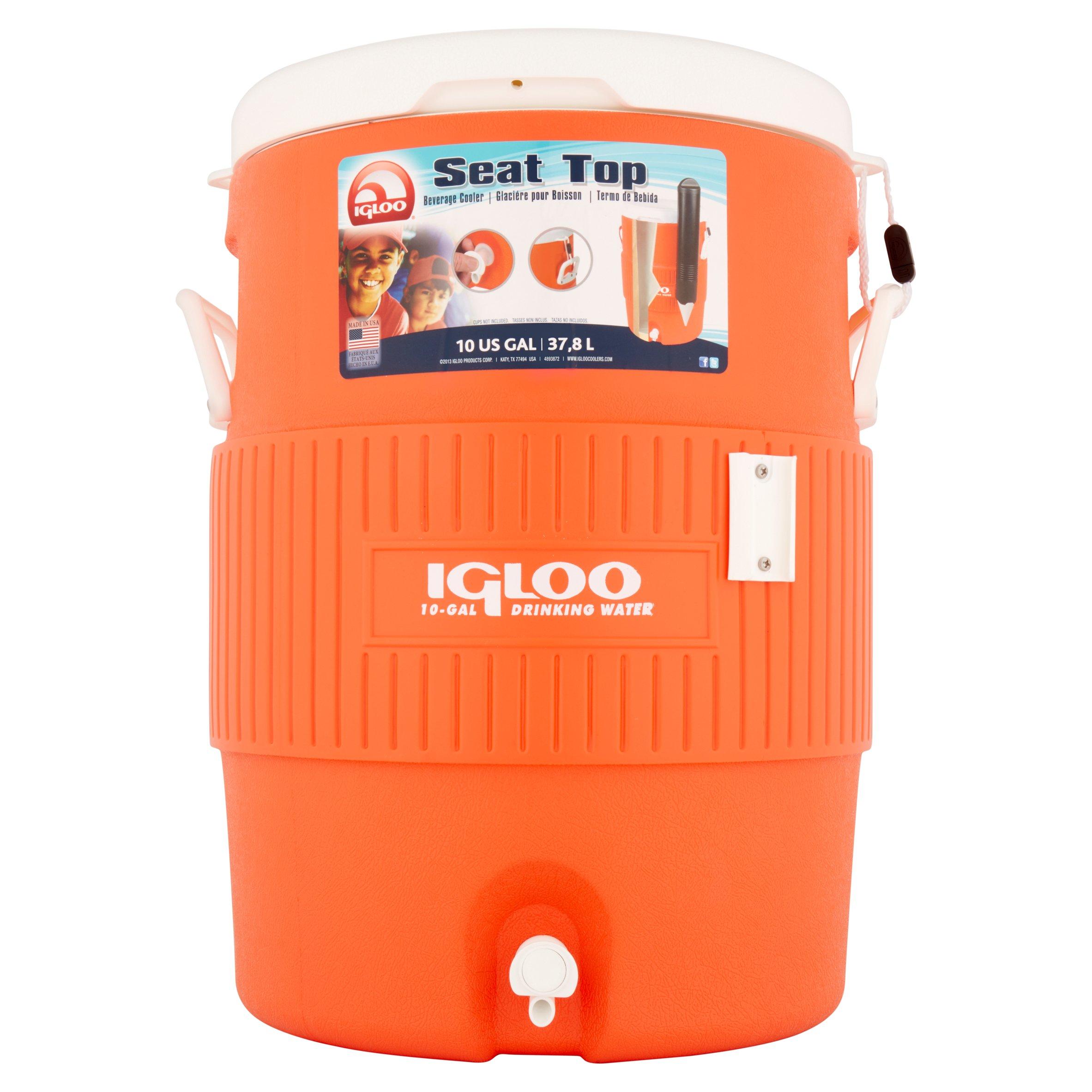 Igloo Seat Top 10 US Gal Beverage Cooler