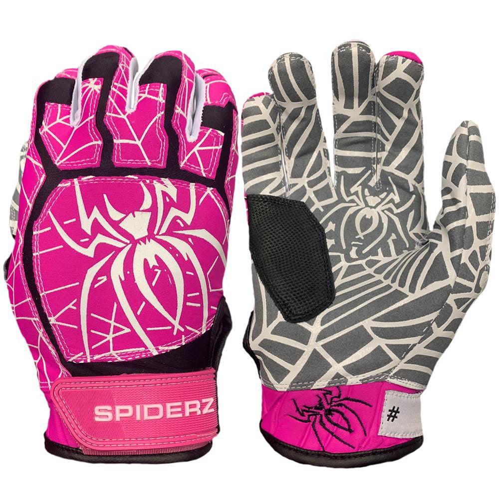 Spiderz Web Adult 2019 Baseball//Softball Batting Gloves