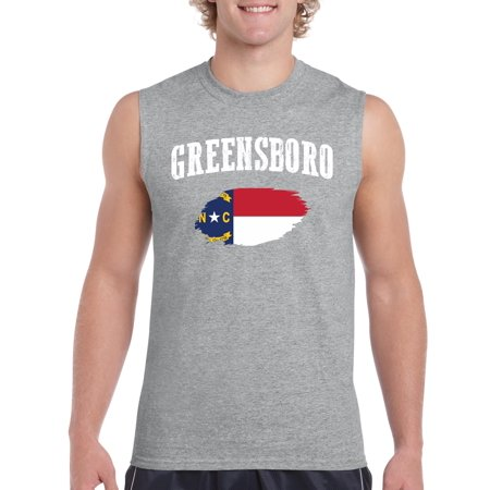 Greensboro North Carolina Mens Sleeveless - Party City Greensboro North Carolina