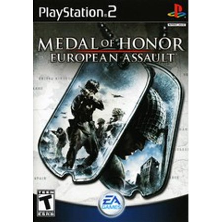 Medal of Honor European Assault - PS2 Playstation 2