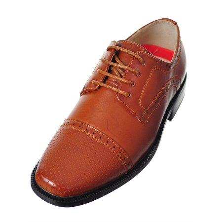 c1d7e11a1ee9 Joseph Allen - Joseph Allen Boys  Dress Shoes (Sizes 5 - 8) - Walmart ...