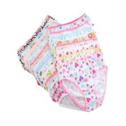 6Pcs Kids Baby Girls Underpants Cotton Panties Child Underwear Short Briefs