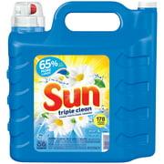 Sun Liquid Laundry Detergent, Clean & Fresh, 250 Ounce, 178 Loads