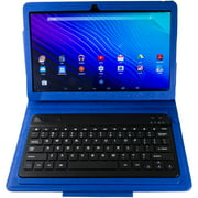 "Nuvision TM1318 13.3"" Android Tablet Bundle with Keyboard, Case, Stylus, and Stand (Assorrted Colors)"