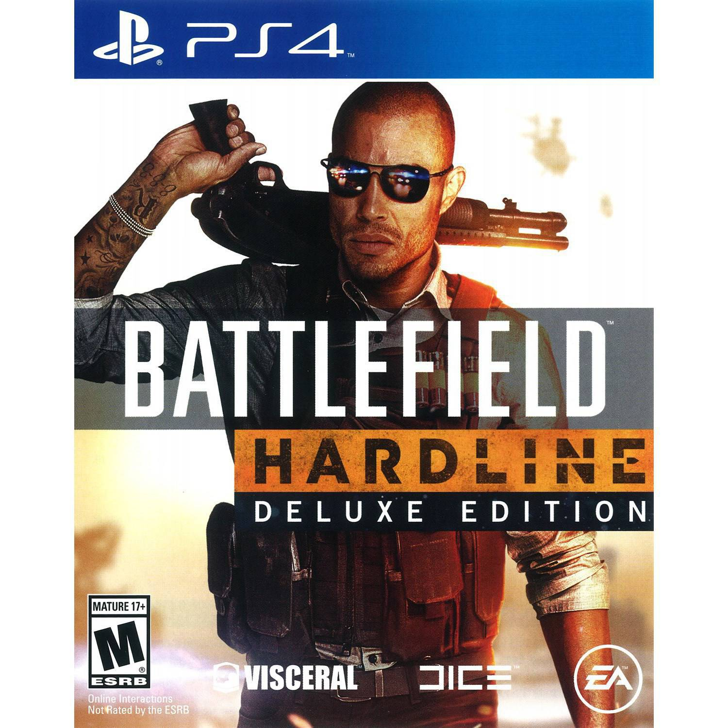 Battlefield Hardline Deluxe Edition (PS4)