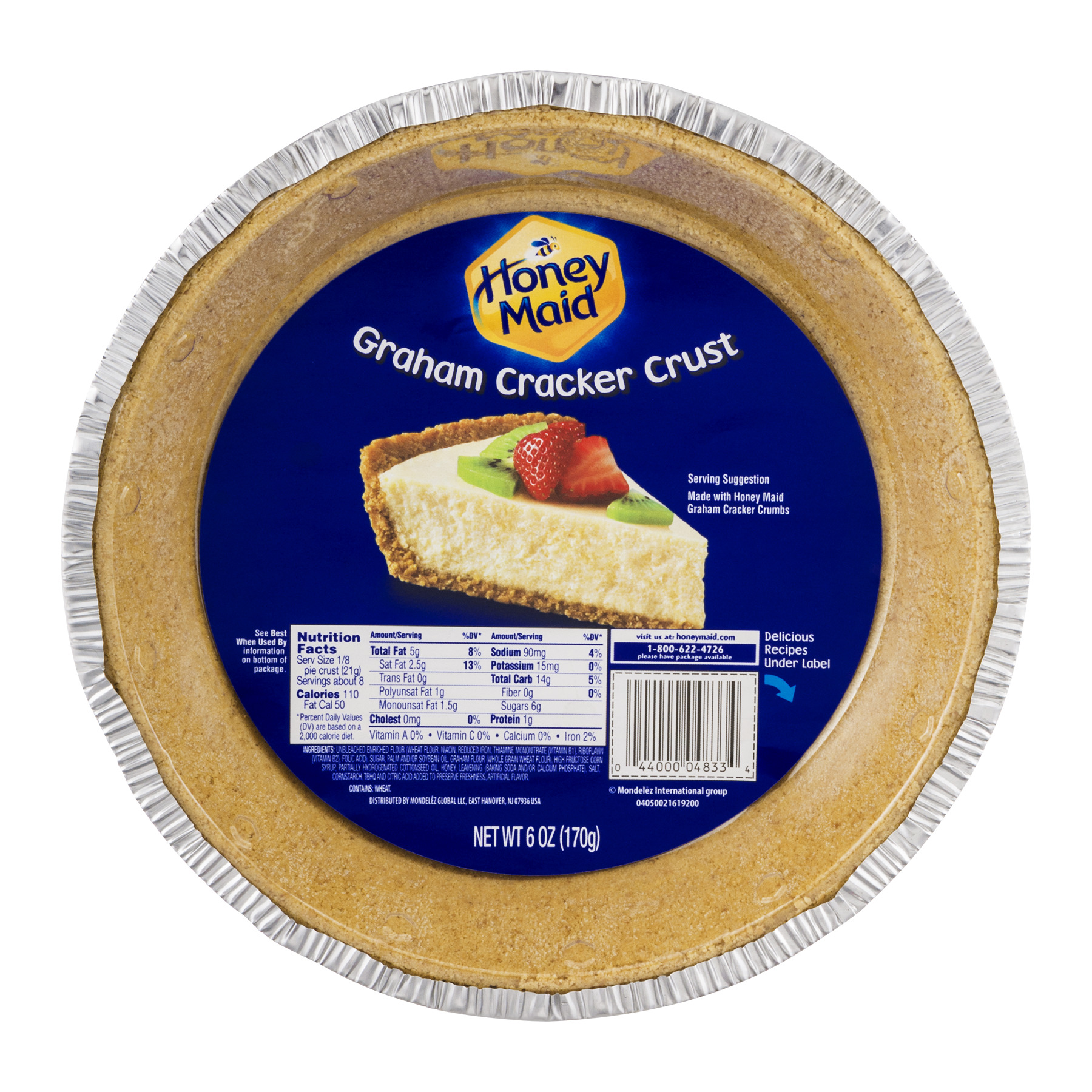 Nabisco Honey Maid: Pie Crust Graham, 6 Oz