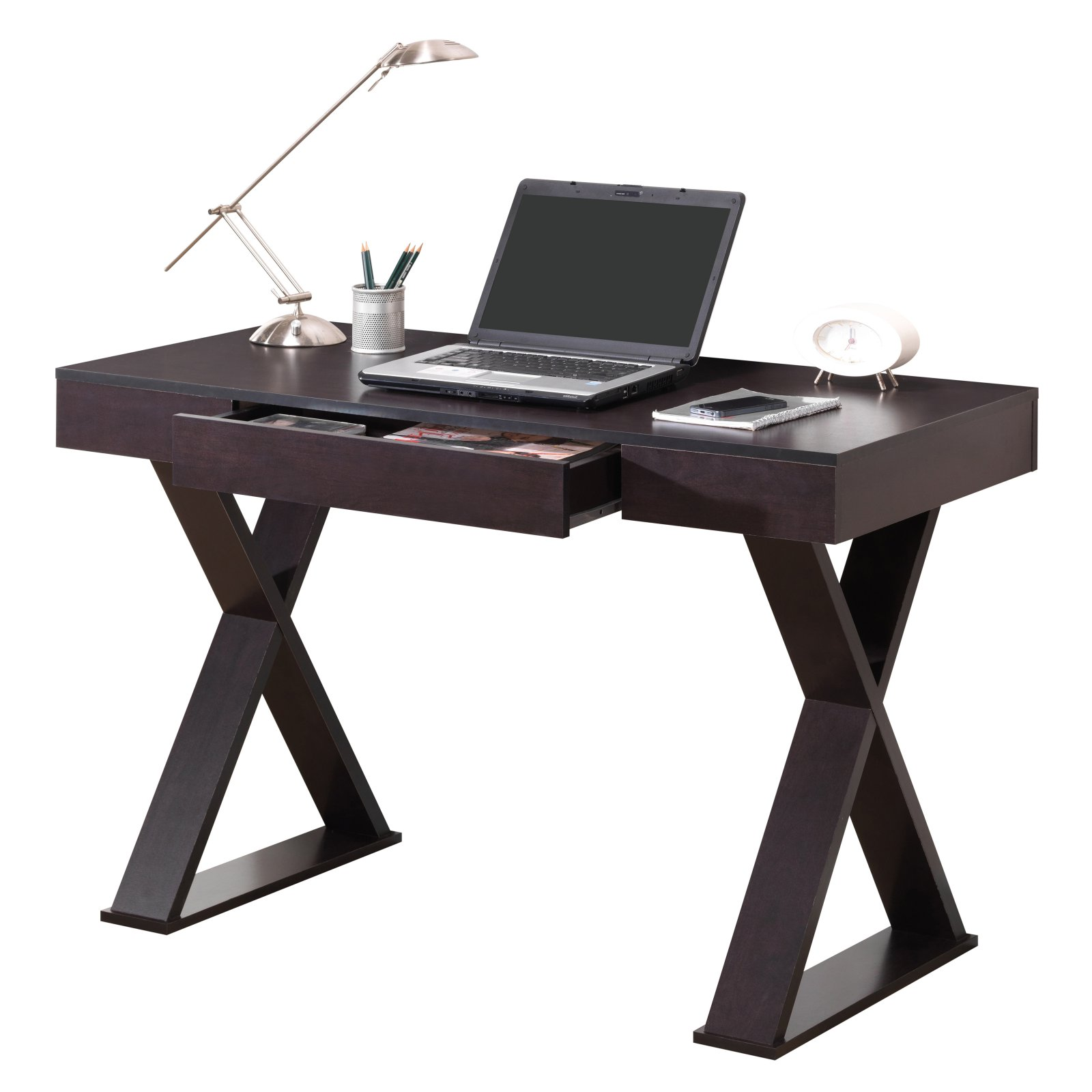 Techni Mobili Trendy Desk with Drawer