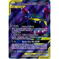 Pokemon Unbroken Bonds Muk & Alolan Muk-Tag Team GX #196