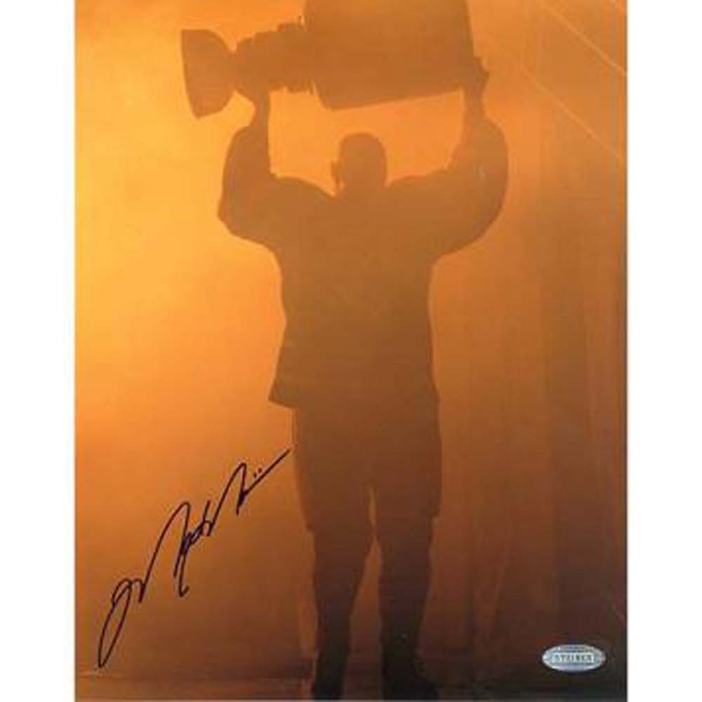 Steiner Sports NHL Mark Messier Oilers Retirement Night Entering Through Smoke with Stanley Cup Photograph