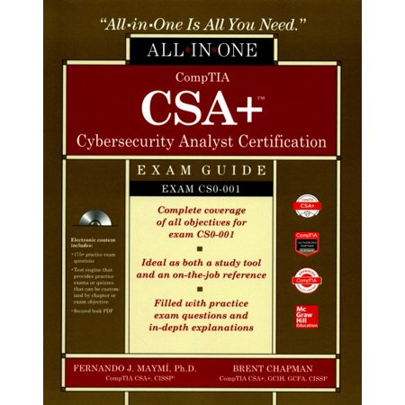 Comptia Csa  Cybersecurity Analyst Certification Exam Guide