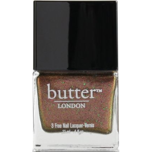 Butter London 3 Free Nail Polish,Scuppered, Opaque copper with glitters - Walmart.com