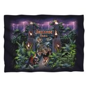 Jurassic Park Welcome To The Park Pillow Case White One Size