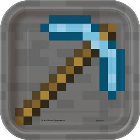 Minecraft Small Paper Plates (8ct) (Wholesale Minecraft)
