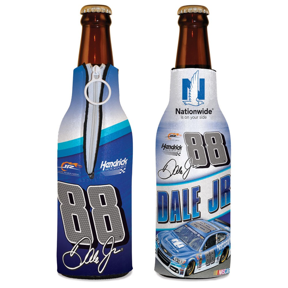 Dale Earnhardt Jr. Official NASCAR  Insulated Coozie Bottle Cooler by Wincraft