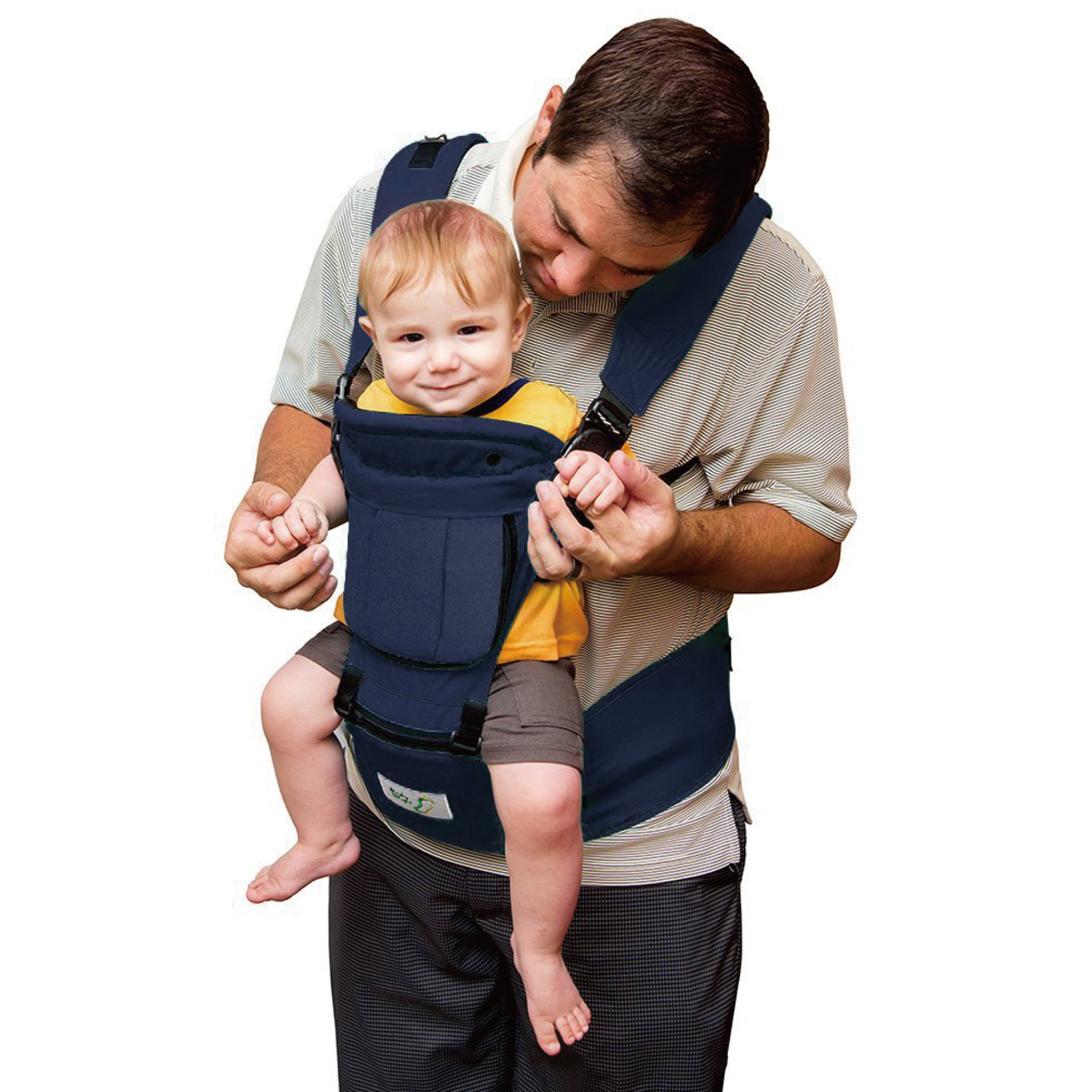 BabySteps Ergonomic Baby Carrier with Hip Seat for All Seasons, 6 Comfortable & Safe Positions for Infant &... by BabySteps
