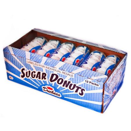 Duchess Sugar Donuts (3 oz. packs, 12 (Duchess Sugar)