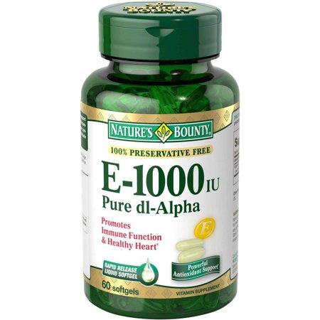 Nature S Bounty Vitamin C E Review
