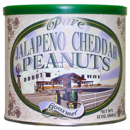 Pure Jalapeno Cheddar Peanuts
