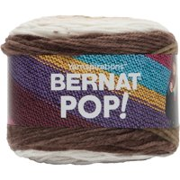 Bernat Acrylic Pop Hot Chocolate Yarn, 1 Each