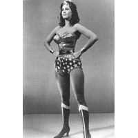 Wonder Woman B&w 24x36 Poster Lynda Carter Full Length