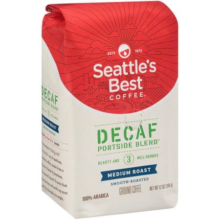 Seattles Best Coffee Medium   Balanced Decaf Signature Blend No  3 Ground Coffee 12 Oz  Bag