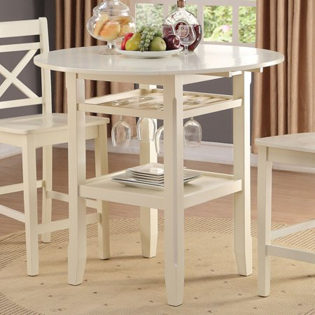 ACME Tartys Counter Height Table, Cherry ()