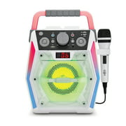 Singing Machine Glow, SML2200, Bluetooth CDG Karaoke Machine