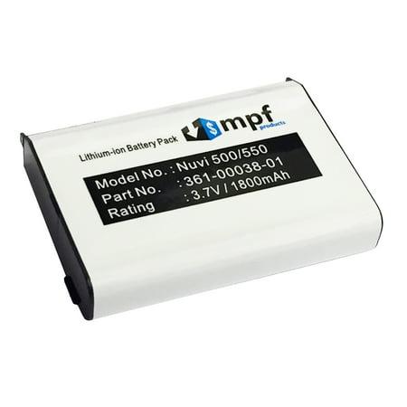 010-11143-00, 361-00038-01 Battery for Garmin Nuvi 500, 510, 550, Zumo 220, 600, 650, 660, 665, Aera 500, 510, 550, 560 GPS