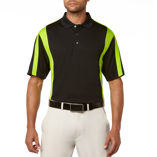 Ben Hogan Men's Short Sleeve Swing Colorblock Fashion Polo