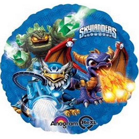 Skylanders Foil Balloon - Skylanders Birthday Party