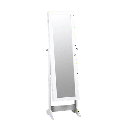 ViscoLogic Floor Standing Cabinet Jewelry Armoire with ...