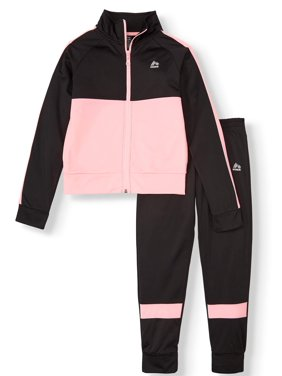 RBX Colorblock Tricot Jacket and Active Jogger, 2-Piece Active Set (Little Girls & Big Girls)