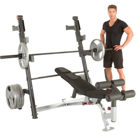 Ironman Triathlon X Class Olympic Weight Bench With Detachable Leg Hold Down