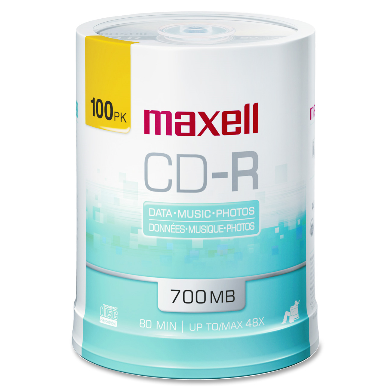 Maxell 648720 48x CD-R Media