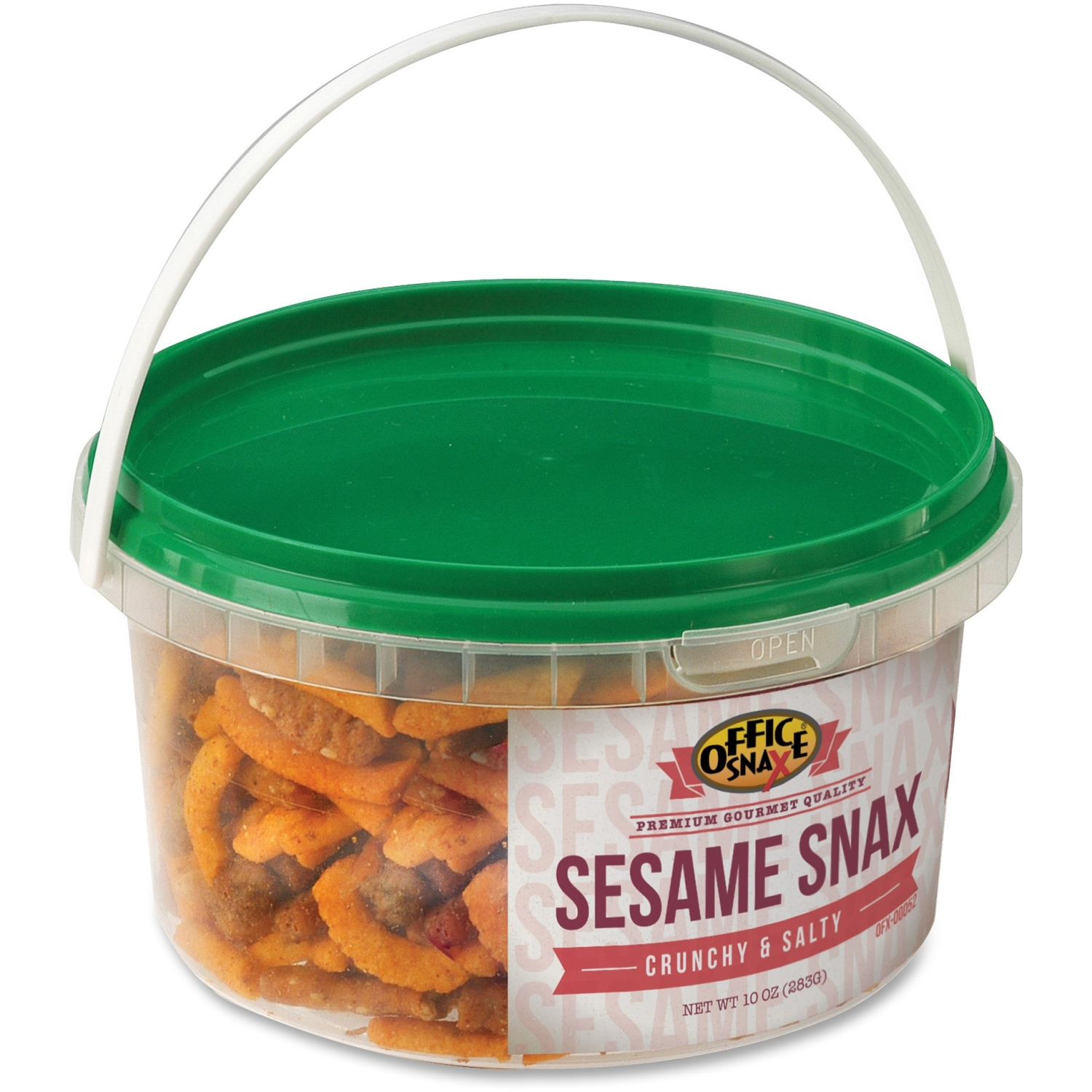 Office Snax All Tyme Favorite Nuts, Sesame Snax Mix, 10 oz Tub