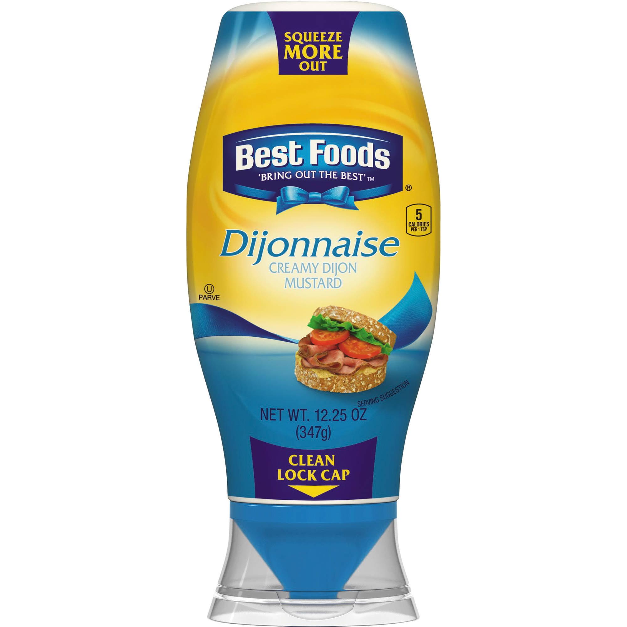 Best Foods Dijonnaise Creamy Dijon Mustard, 12.25 oz by Unilever