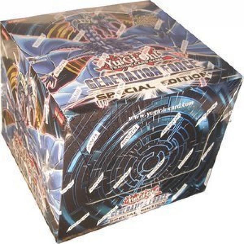 Konami Yu-Gi-Oh Generation Force Special Edition Box
