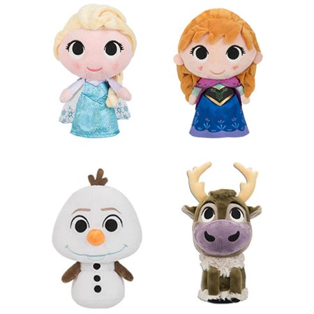 Funko SuperCute Plushies - Disney's Frozen - SET OF 4 (Elsa, Anna, Olaf & Sven) - Frozen Sven