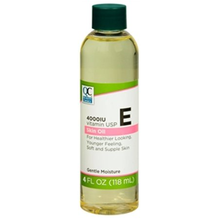 3 Pack Quality Choice Vitamin E 4,000 I.U. Skin Oil 4oz (Quality Skin)