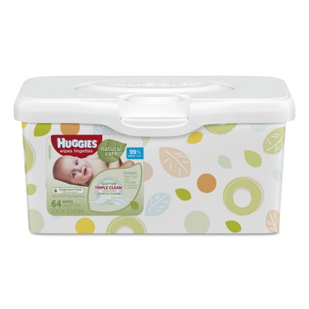 Huggies Natural Care Baby Wipes Fragrance Free Pop Up