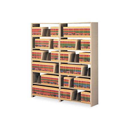 Tennsco Regal Shelving Starter (Tennsco Snap-Together Steel Seven-Shelf Closed Starter Set, 36w x 12d x 88h,)