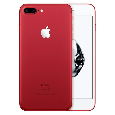 Apple iPhone 7 Plus Unlocked - 128GB - Red (Refurbished)