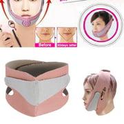 OTVIAP Slimming Mask,1PC Face Slimming Mask Chin Support Facial Thin Lifting Belt Anti Snoring Band Strap,Face Slimming Belt