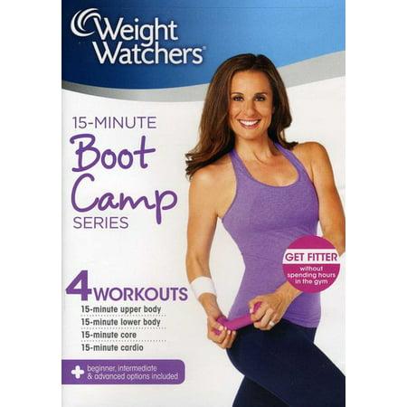 Weight Watchers: 15-Minute Boot Camp Series (DVD) (Watchers 5)