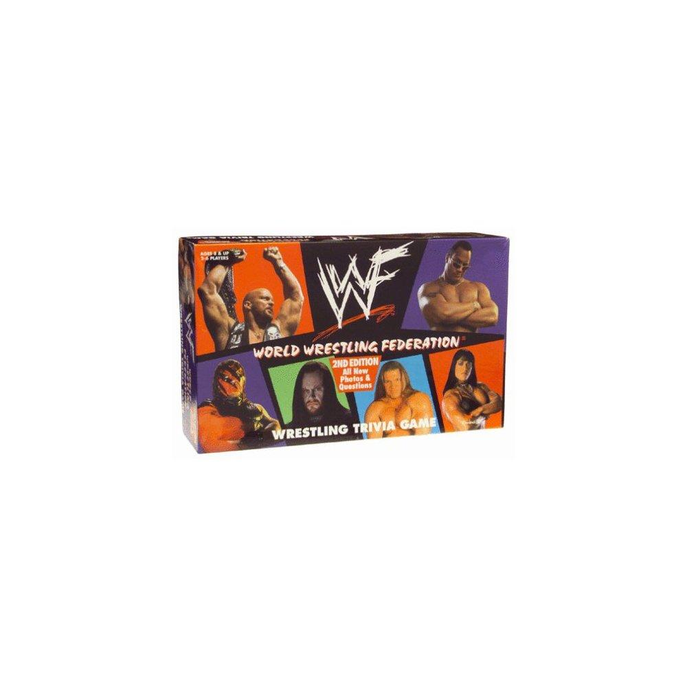 World Wrestling Federation Wrestling Trivia Game 2nd Edition by